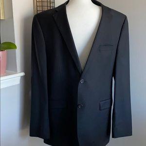 Lauren by Ralph Lauren Macy's Black Full Suit